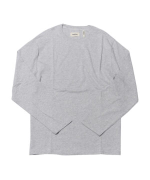 BOXY MOCK NECK LS TEE-1