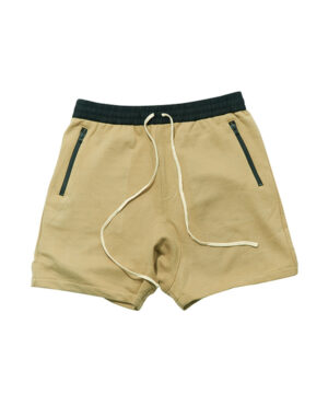 POCKET ZIP SWEAT SHORTS-6