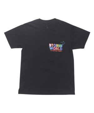 Travis Scott Stormi 2 Party tee 2-1BLACK